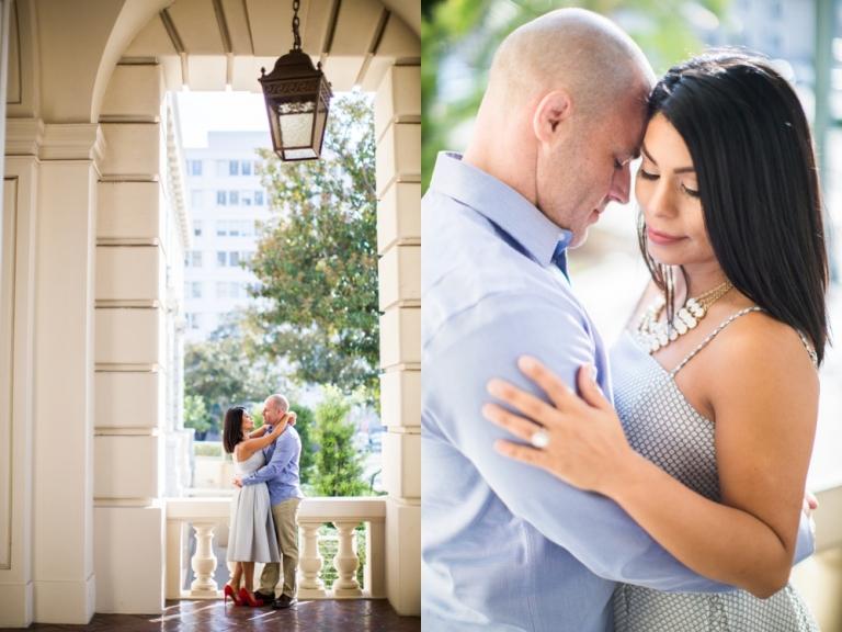 Pasadena City Hall Engagement Photo