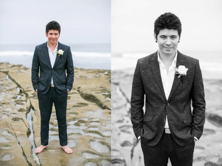 Whispering Sands Beach Wedding Groom Photo