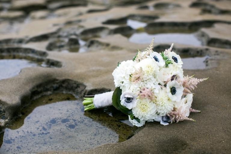 Whispering Sands Beach Wedding Bouquet Photo