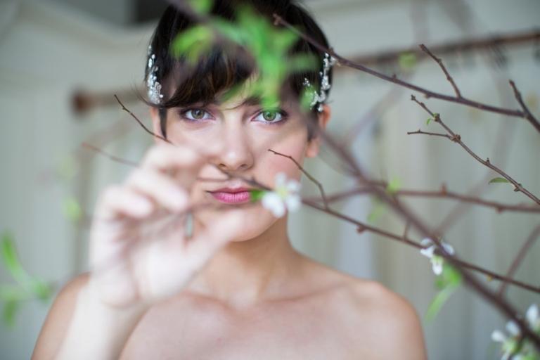 Valentine's Day Bridal Inspiration Photo